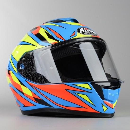 Airoh ST501 Dudu Gloss Full Face Motosiklet Kaski