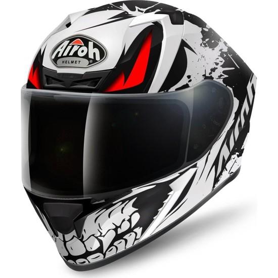 Airoh Valor Bone Matt Full Face Motosiklet Kaski