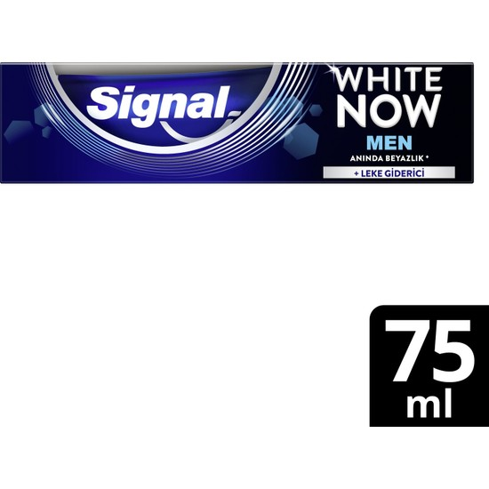 Signal White Now Men Diş Macunu 75 ml