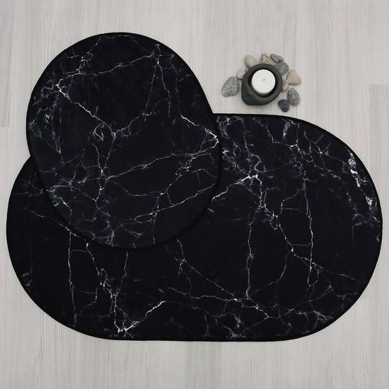 Hepsi Home Marble Dekoratif Banyo Paspas