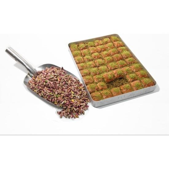 Hüseyinoğlu Baklava-Börek Antep Fıstıklı Klasik Baklava Küçük Tepsi 2 kg
