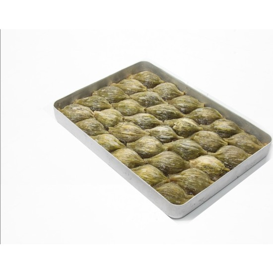 Hüseyinoğlu Baklava-Börek Antep Fıstıklı Midye Baklava Büyük Tepsi 3500 gr