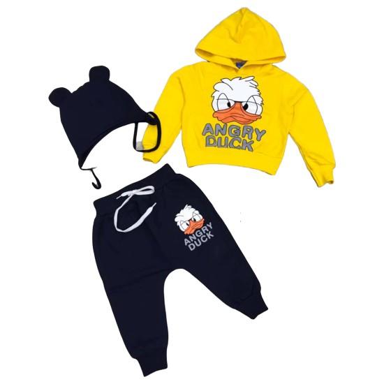 Tarz Kids Angry Duck Unisex Eşofman Takımlar