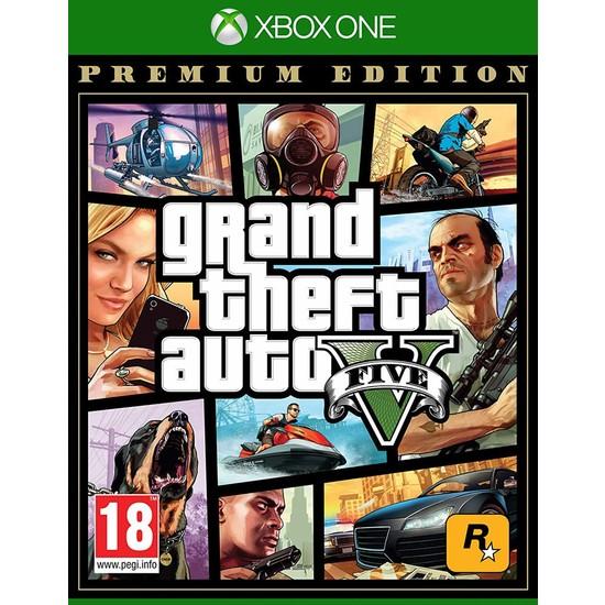 Grand Theft Auto V Premium Edition Xbox One Gta 5 Oyun