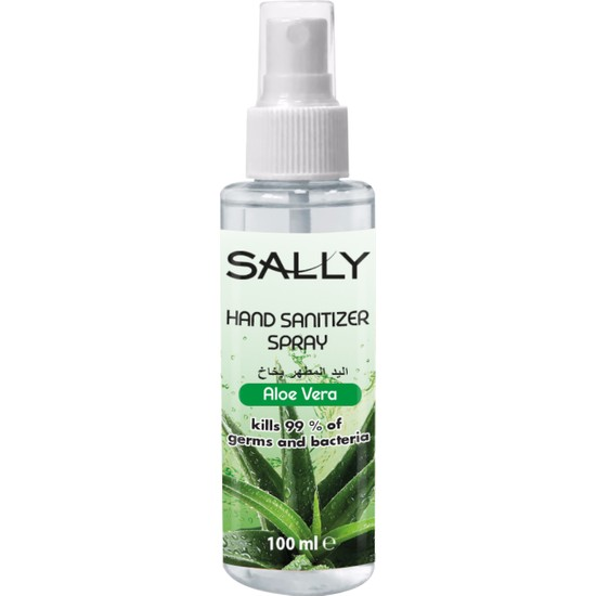 Sally El Dezenfekte Spreyi Aloe Vera 100 ml