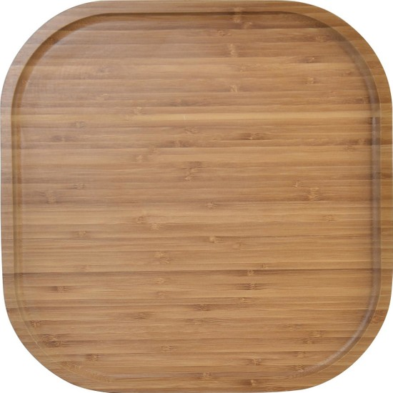 Zucci Bambu Kare Sunum Tepsısı 33,5x33,5cm