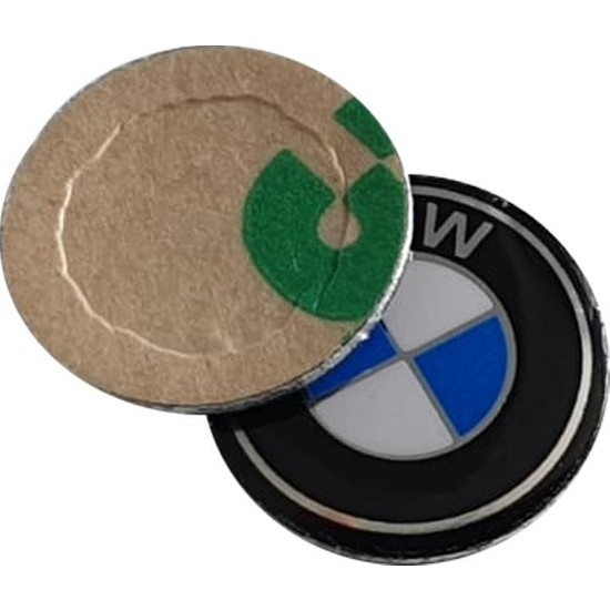 BMW İçin 2 Adet Araç Anahtar Logo Amblemi Ürünün Çapı:11mm'dir
