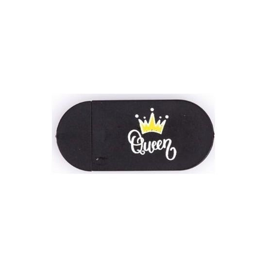 Kamera Kapatıcı Queen Siyah