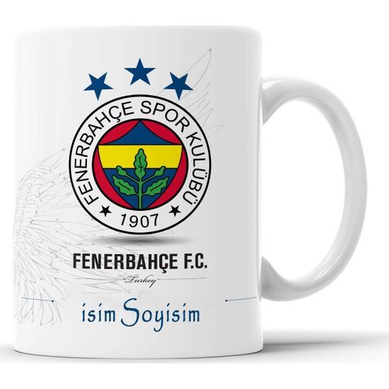 Kırk8 Fenerbahçe Kişiye Özel Isim Baskılı Kupa Bardak