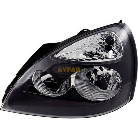 Ayfar 202260 Renault Clio Far Motorlu Sağ Siyah Çerçeveli(2001-2005)