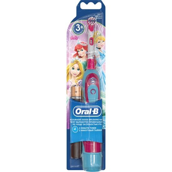 Oral-B Çocuklar için Prenses Temalı Pilli Diş Fırçası