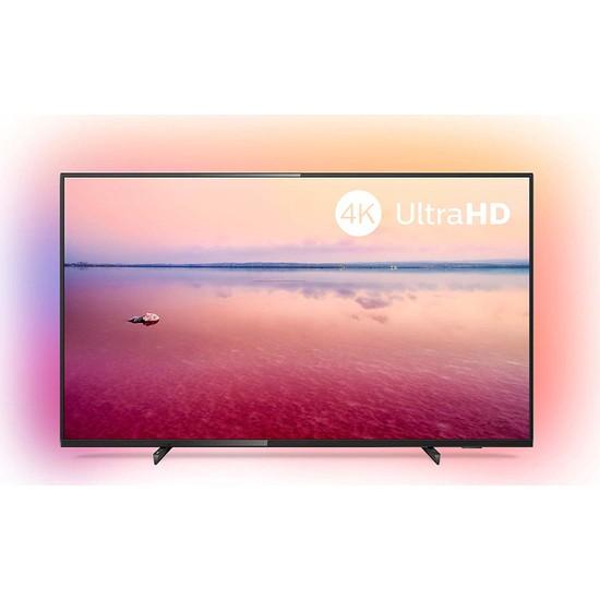 """Philips 50PUS6704/62 50"""" 127 Ekran Uydu Alıcılı 4K Ultra HD Smart LED TV"""