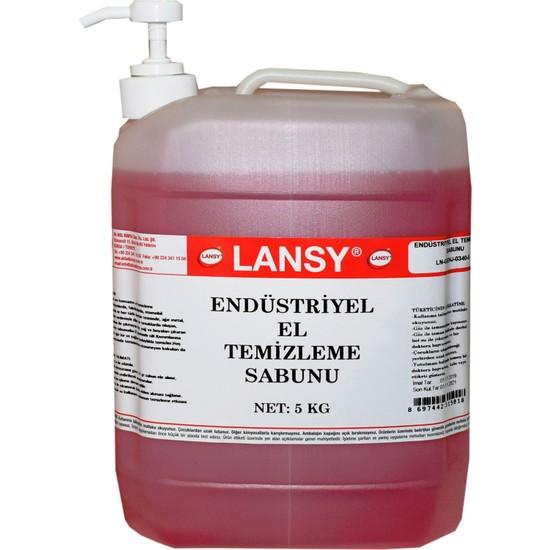 Lansy Endüstriyel El Temizleme Sabunu 5 Kg+Pompalı (Granülsüz)