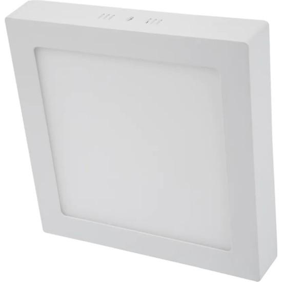 Led Pazarı 18 W Sıva Üstü Kare Panel LED Spot Armatür