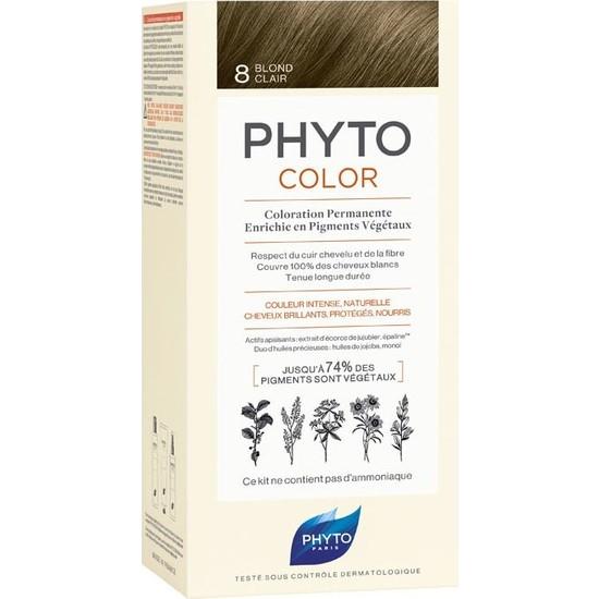 Phyto Phytocolor Bitkisel - 8 Açık Sarı Saç Boyası
