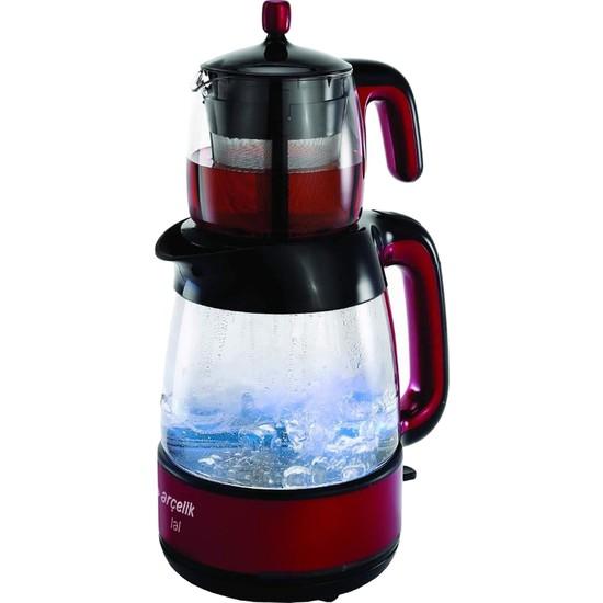 Arçelik K 8025 Cam Gövdeli Çay Makinesi Lal