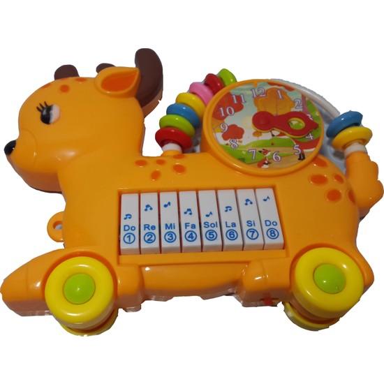 Prestij Hayvanlı Çıngıraklı Org Piyano