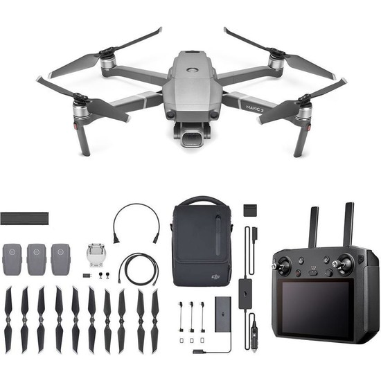 Dji Mavic 2 Pro ve Akıllı Kumanda 16GB + Fly More Kit Combo