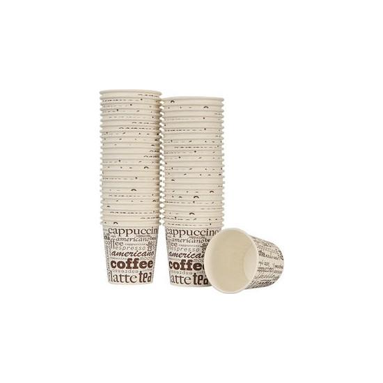 Paper Cup Büyük Karton Bardak 7 Oz 100'lü Paket