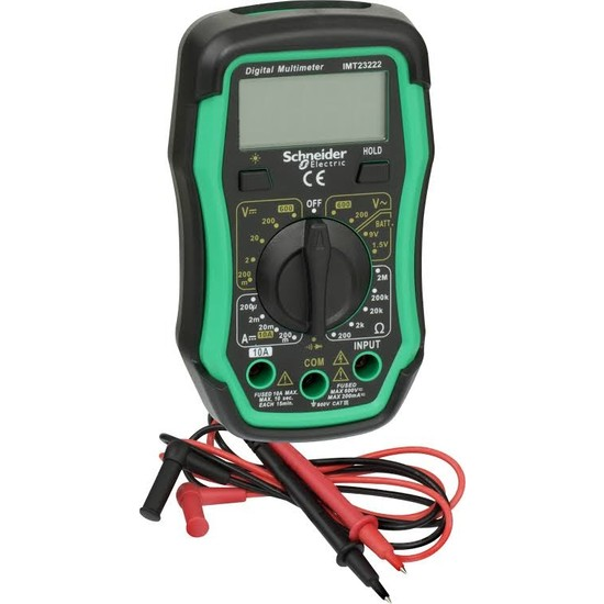 Schneıder 600V Digital Multimetre