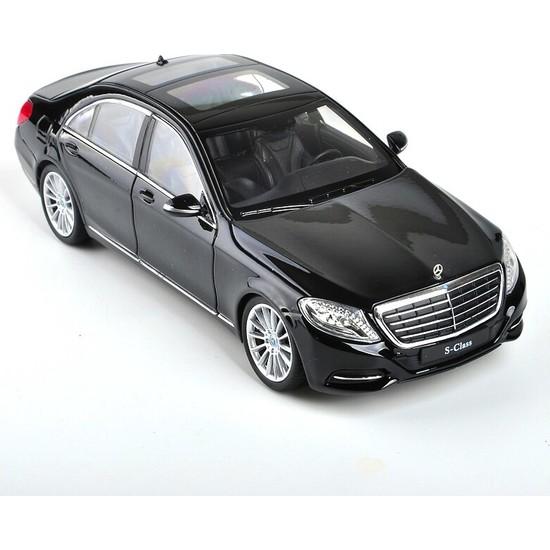 Welly 1/24 Ölçek Mercedes-Benz S Class Model Araba Siyah