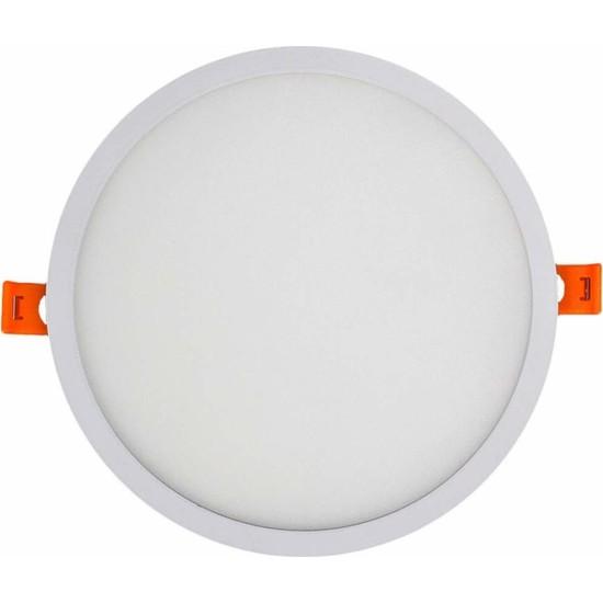 Led Pazarı 6W LED Panel Spot Slim