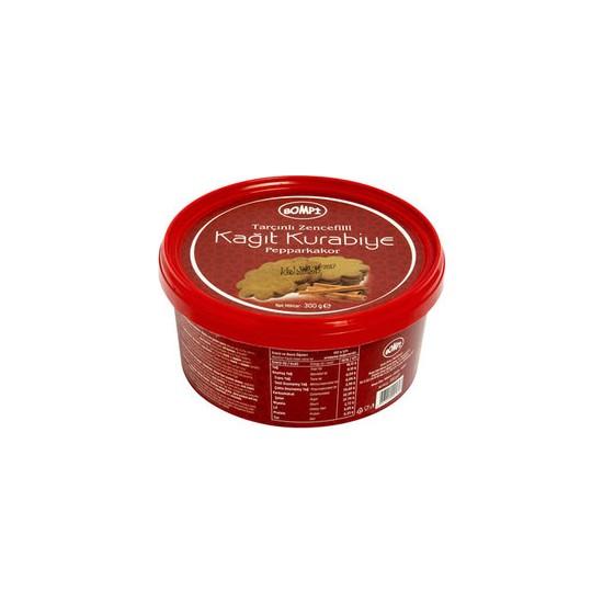 Bompi Tarçınlı Zencefilli Kağıt Kurabiye Pepparkakor 300 gr