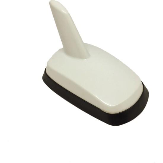 Oto Aksesuarcım Balık Sırtı Süs Anten Audi Tip Beyaz YES030B