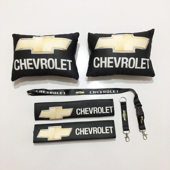 Oto Aksesuarcım Chevrolet Siyah Boyun Yastık Seti
