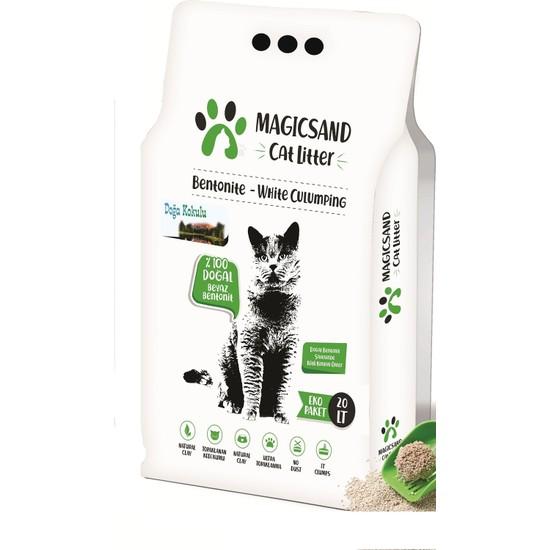 Magicsand Cat Litter Doğa Kokulu İnce Taneli Kedi Kumu 20 l