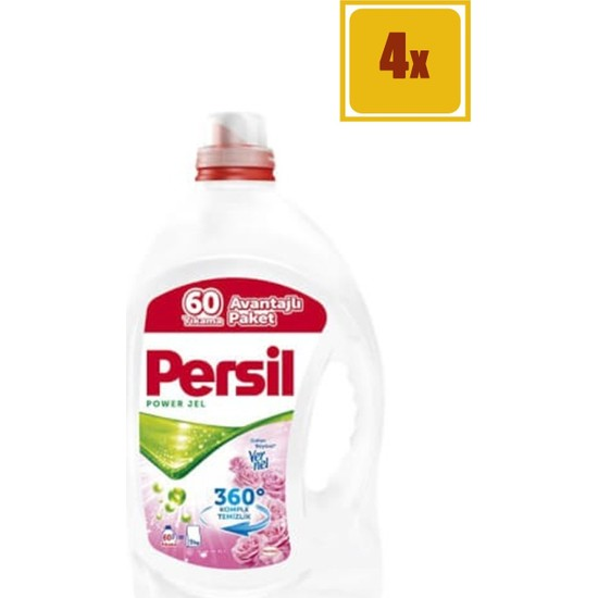 Persil 4,2 Lt 60 Yıkama Bahar Ferahlığı Jel Deterjan