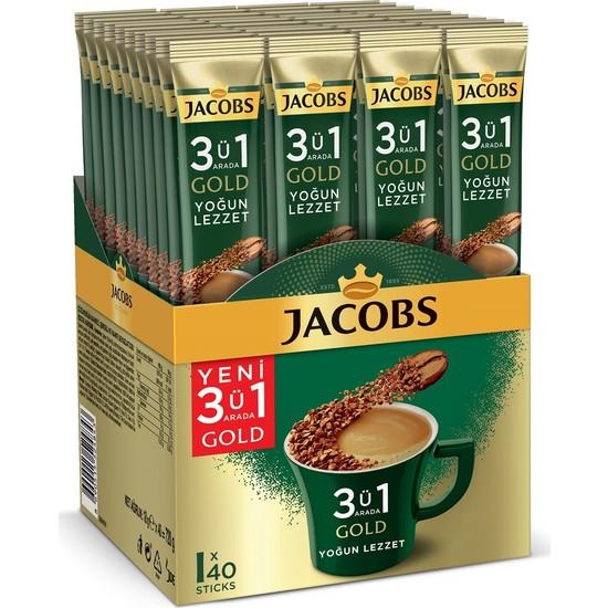 Jacobs 3ü1 Arada Gold Yoğun Lezzet 40LI
