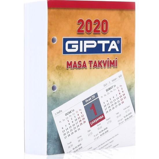 Gıpta Masa Takvimi 2020 10X13 Blok 365-Gtb