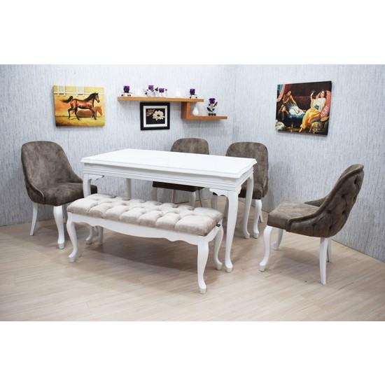 Corner Life Seçkin Sandalye Mutfak Masa Takımı