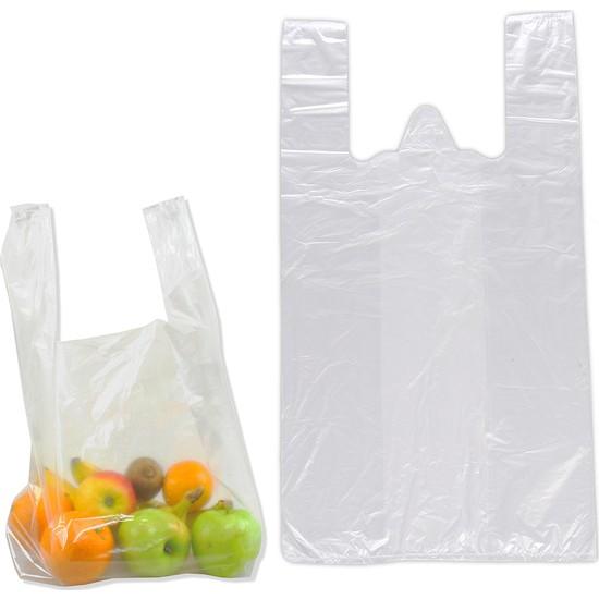 Hoşgör Plastik Hışır Atlet Market Manav Poşeti Kiloluk Büyük Boy 5 Paket:5 Kg