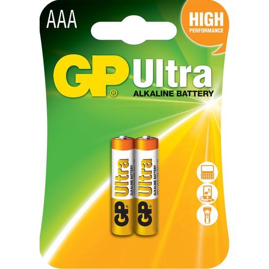 Gp 24Au Lr03 Ultra Alkalin İnce Kalem Pil 2K