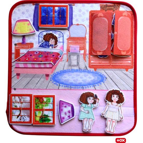 Tox ( Yatak Odası ) Keçe Cırtlı Aktivite Sayfası