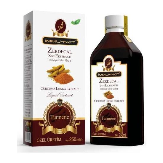 İmmunat Immu-Nat Zerdeçal Sıvı Ekstraktı 250 ml