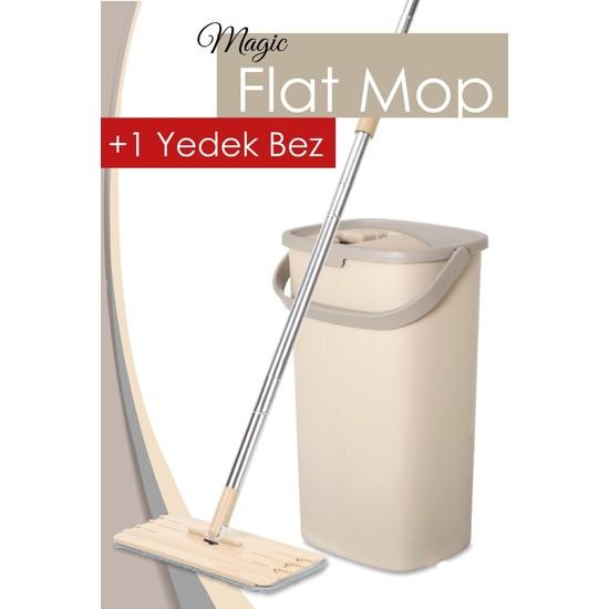 Dünya Plastik Magic Flat (Tablet) Mop Set + 1 Yedek Bez