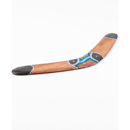 Dünyadan Hediyeler Ahşap Bumerang Batikli Boomerang