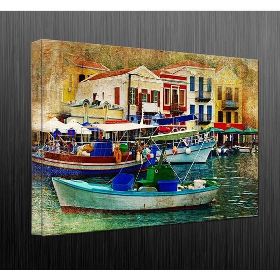 Duvar Tasarım DC 2062 Mediternian Kanvas Tablo - 50x70 cm