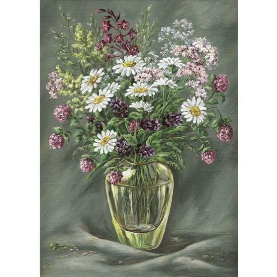 Duvar Tasarım DC 2152 Oil Paint Kanvas Tablo - 50x70 cm