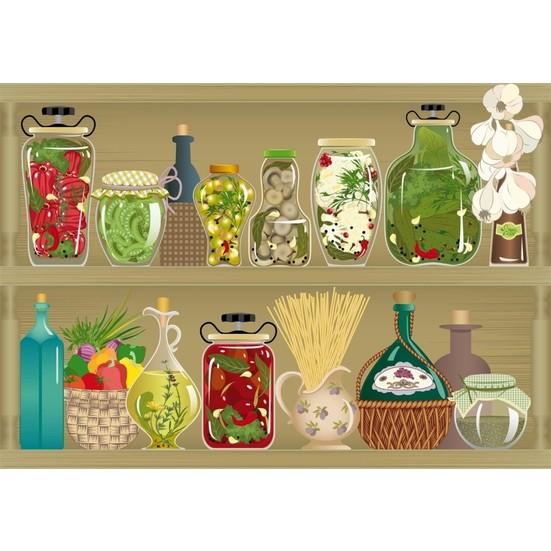 Duvar Tasarım DC 2245 Kitchen Kanvas Tablo - 50x70 cm
