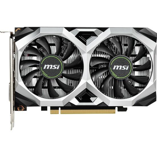 MSI GeForce GTX 1650 Super Ventus XS OC 4GB 128Bit GDDR6 DX(12) PCI-E 3.0 Ekran Kartı (GEFORCE GTX 1650 SUPER VENTUS XS OC)