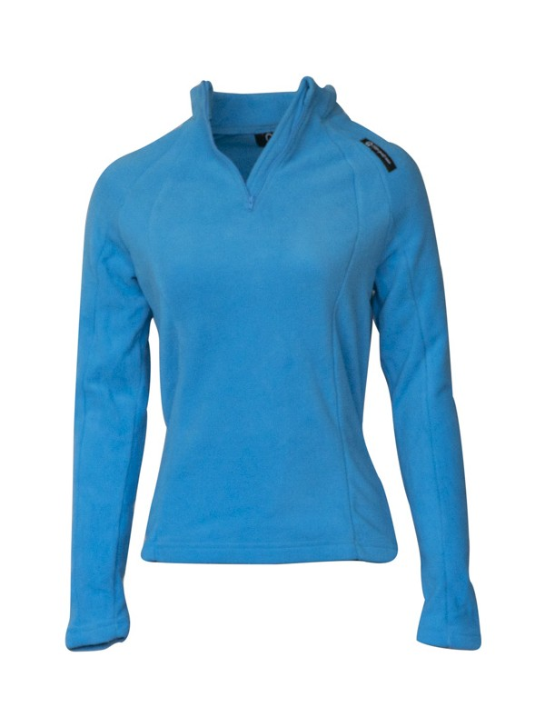 Q Active Mavi Kadın Yarım Fermuar Polar