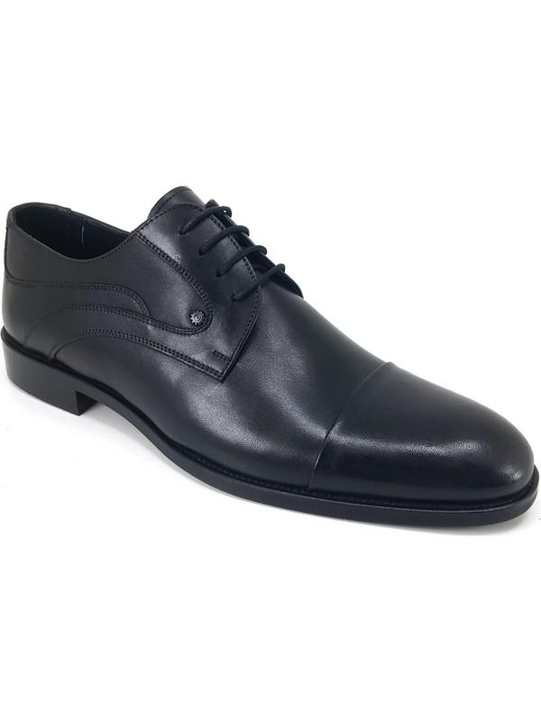 Oskar 1179 Günlük Kösele Erkek Ayakkabı Siyah