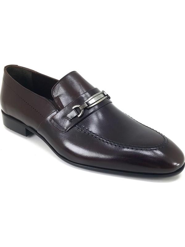 Oskar 2294 Günlük Kösele Erkek Ayakkabı Kahverengi