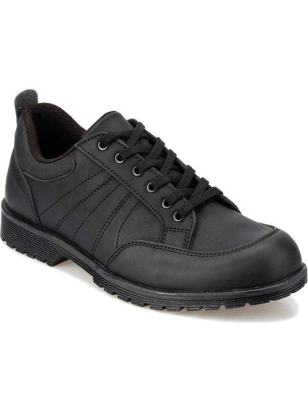 Polaris 92.356077.M Siyah Erkek Ayakkabı