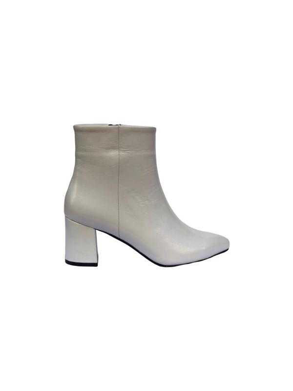 Marine Shoes KadınTopuklu Krem Bot 001