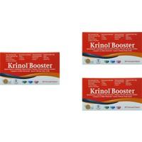 Krinol Booster - Epimedyum, Lepidyum, Resveratrol ve Likopen - 30 Kapsül - 3 Kutu
